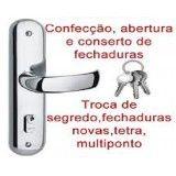 serviços para abertura de fechadura em sp na Vila Prudente